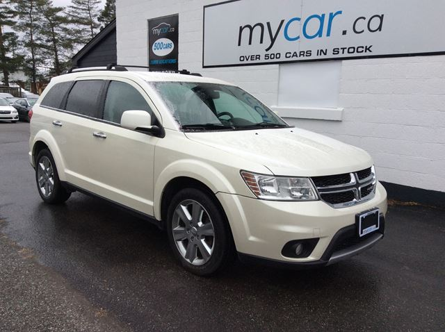 2013 DODGE Journey R/T LEATHER, 7 PASS, V6, AWESOME BUY!! in Kingston, Ontario