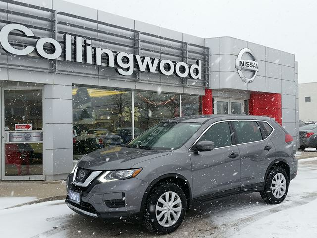 2017 NISSAN ROGUE S AWD *1 OWNER - CLEAN FAX* in Collingwood, Ontario