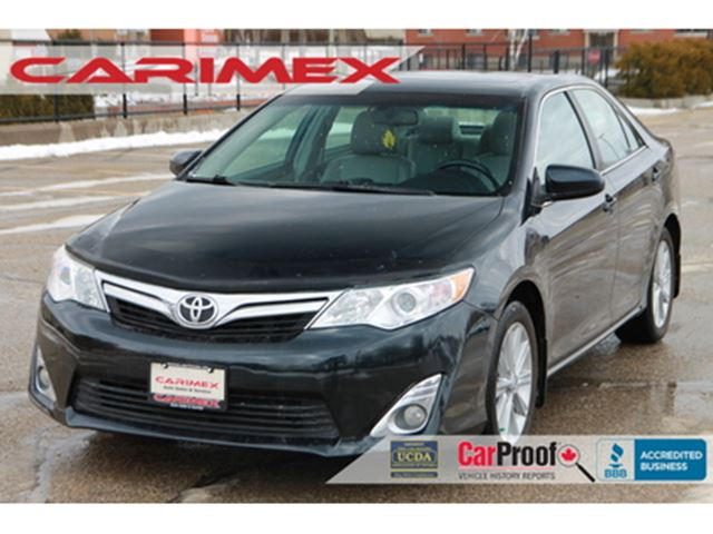 2012 TOYOTA CAMRY XLE Heated Seats   Sunroof   Bluetooth in Kitchener, Ontario