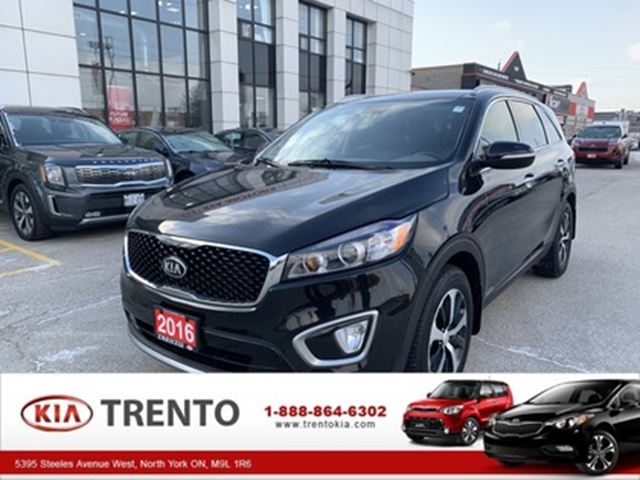 2016 Kia Sorento AWDr 3.3L EX V6  7 PASSENGER   ONE OWNER   LEATHER in