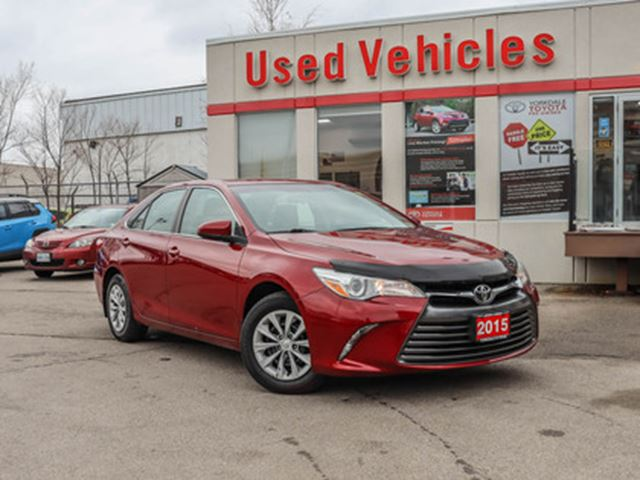 2015 TOYOTA CAMRY 4dr Sdn I4 Auto LE   COMING SOON in Toronto, Ontario