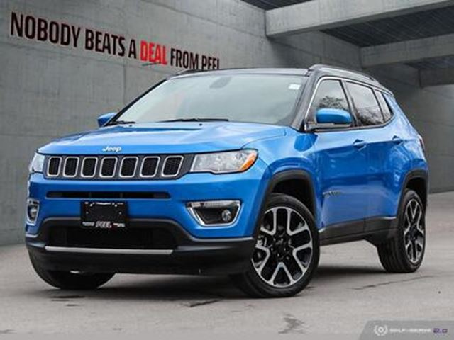 2019 JEEP COMPASS Limited 4x4 in Mississauga, Ontario
