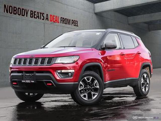 2018 JEEP COMPASS Trailhawk 4x4 in Mississauga, Ontario