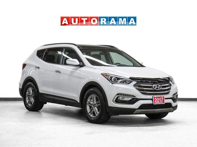 2017 Hyundai Santa Fe Sport 4WD Leather Pano-Roof Backup Cam in