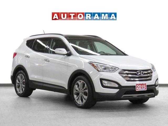 2015 Hyundai Santa Fe 4WD Navigation Leather Pano-Roof Backup Cam in
