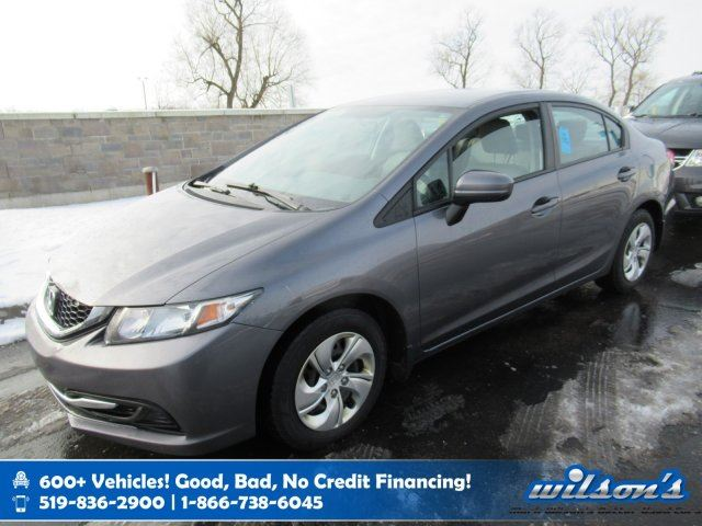 2015 HONDA CIVIC LX, Rear Camera, Heated Seats, Bluetooth, Cruise Control, Keyless Entry and more! in Guelph, Ontario