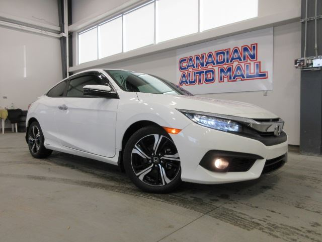 2017 HONDA CIVIC TOURING COUPE, NAV, ROOF, LEATHER, BT, 33K! in Stittsville, Ontario