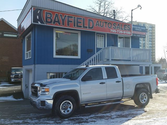2015 GMC Sierra 1500 Double Cab 4x4 **5.3L V8** in