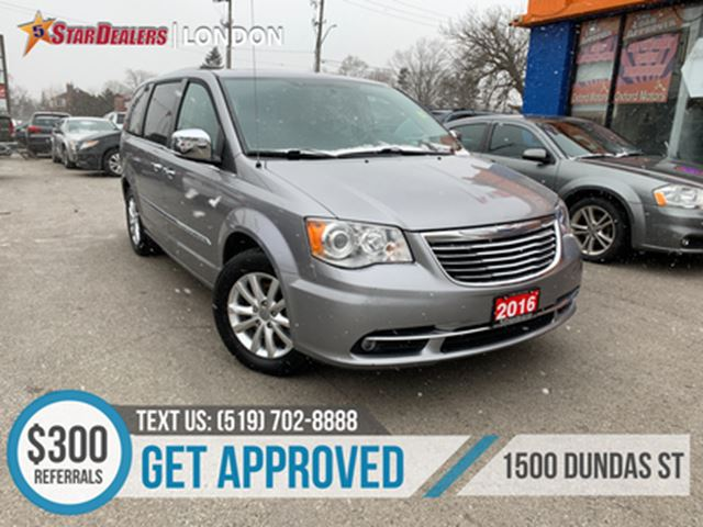 2016 CHRYSLER Town and Country Limited   NAV   LEATHER   ROOF   REMOTE START in London, Ontario