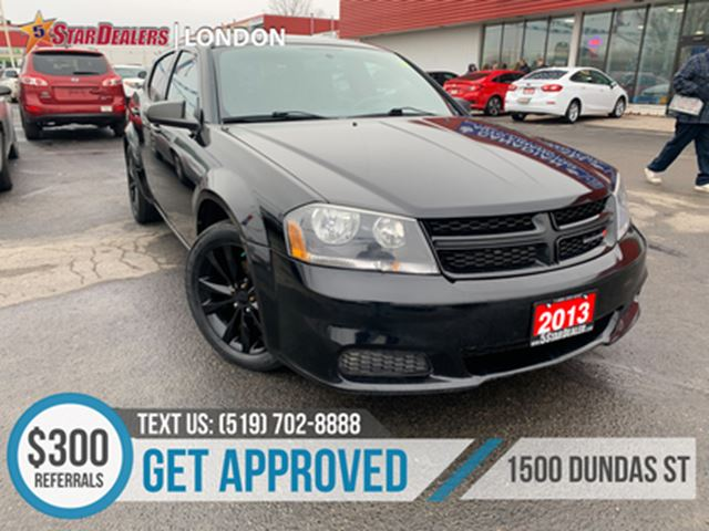 2013 DODGE Avenger CAR LOANS APPROVED in London, Ontario