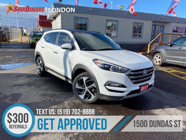 2017 HYUNDAI Tucson Limited   AWD   NAV   LEATHER   PANO ROOF in London, Ontario