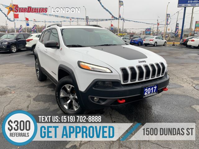2017 Jeep Cherokee 1OWNER   NAV   CAM   LEATHER   PANO ROOF in