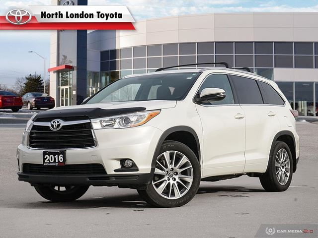 2016 Toyota Highlander XLE No Accidents, Toyota Serviced in