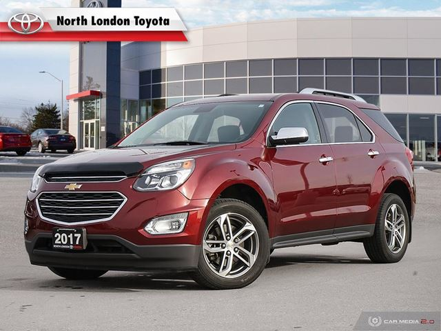 2017 Chevrolet Equinox Premier One Owner, No Accidents  in