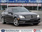 2013 Mercedes-Benz C-Class C350 PANORAMIC ROOF, NAVIGATION,REARVIEW CAMERA, 4MATIC in North York, Ontario