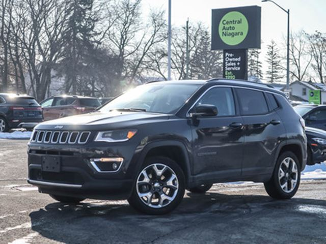 2018 JEEP COMPASS PANO-MOONROOF   NAVIGATION   LEATHER in Fonthill, Ontario