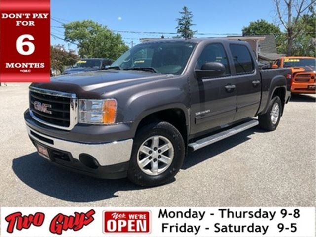 2010 GMC SIERRA 1500 4WD Tow Package Bed Liner Power Folding Mirrors in St Catharines, Ontario