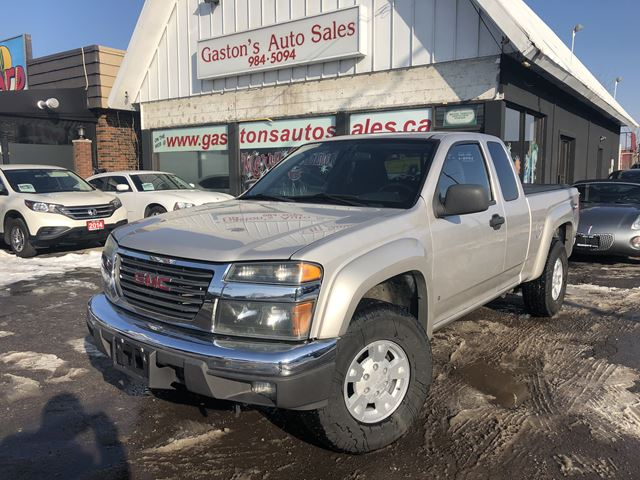 2007 GMC CANYON 4X4! MOONROOF! OFFROAD PKG! in St Catharines, Ontario
