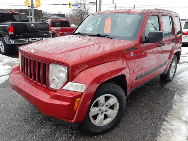 2009 JEEP LIBERTY Sport 4WD in Port Colborne, Ontario