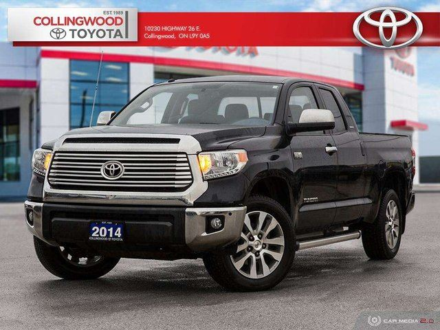 2014 Toyota Tundra LIMITED 4X4 CREWMAX TECHNOLOGY PACKAGE NAVIGATION in