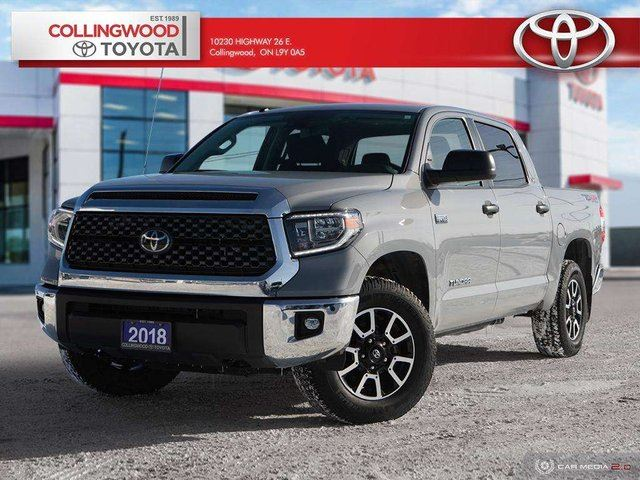 2018 Toyota Tundra TRD OFF ROAD 4X4 CREWMAX in