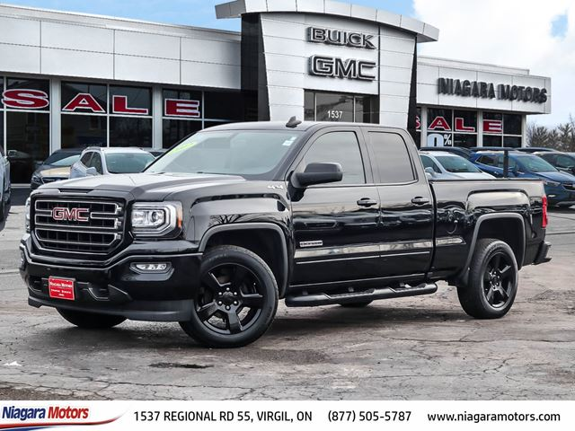 2017 GMC SIERRA 1500 4X4 DOUBLE CAB ELEVATION EDITION in Virgil, Ontario