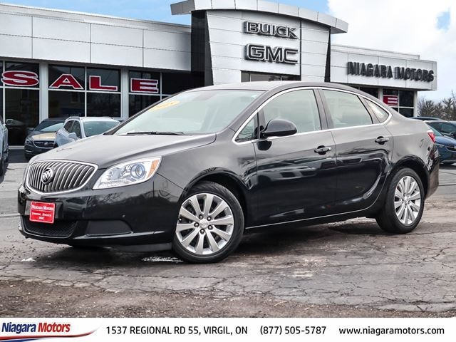 2015 BUICK VERANO CX ONE OWNER LOW MILEAGE. in Virgil, Ontario
