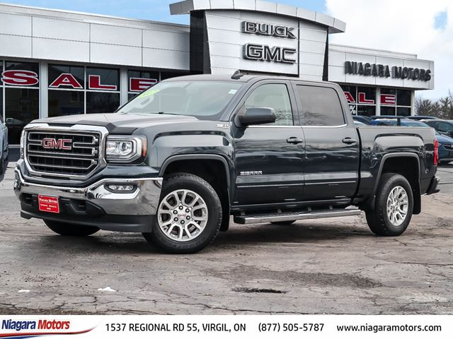 2017 GMC SIERRA 1500 SLE Crew Cab 4X4 KODIAK EDITION ONE OWNER ONLY  in Virgil, Ontario