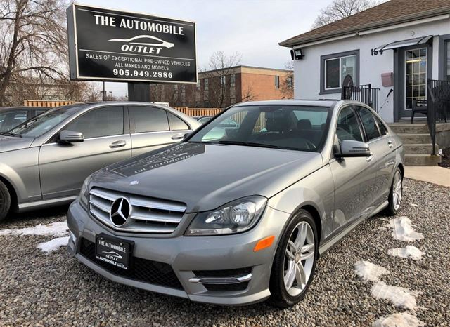 2013 MERCEDES-BENZ C-Class C300 3.5L 4MATIC CERTIFIED LOW KMS LEATHER NO ACCIDE in Mississauga, Ontario