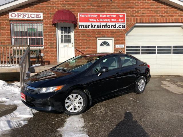 2012 Honda Civic LX Auto 4 Door One-Owner in