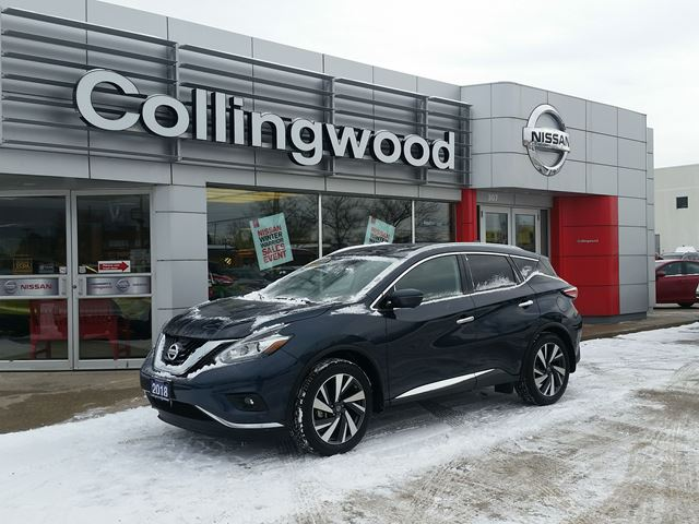 2018 Nissan Murano Platinum AWD *1 OWNER* in