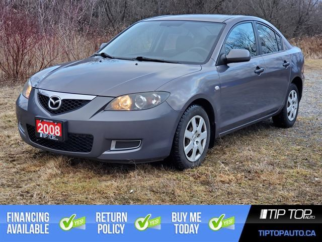 2008 Mazda MAZDA3 2008 4dr Sdn Auto GX -Ltd Avail- in