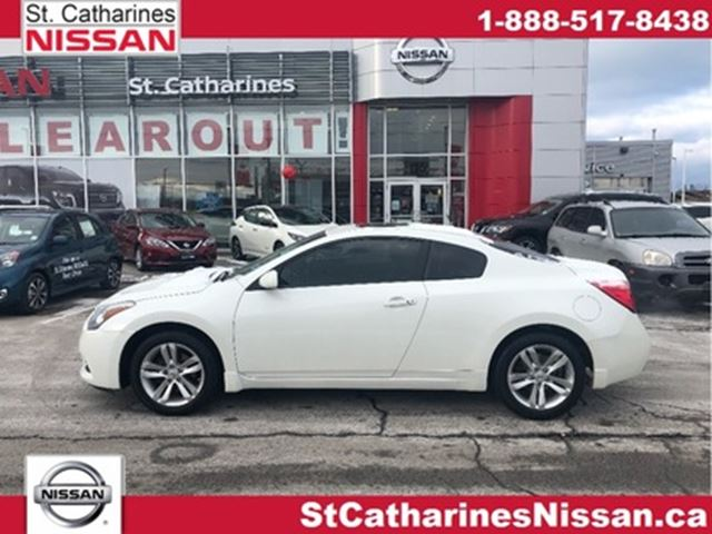 2013 NISSAN ALTIMA 2dr Cpe I4 CVT 2.5 S in St Catharines, Ontario