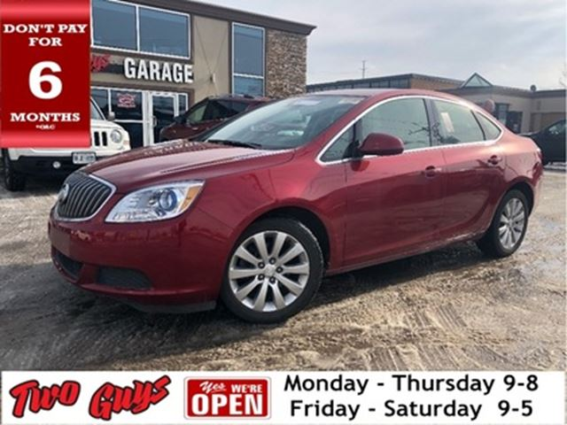 2016 BUICK VERANO Convenience   Htd Seats   B/Up Cam   Bluetooth in St Catharines, Ontario