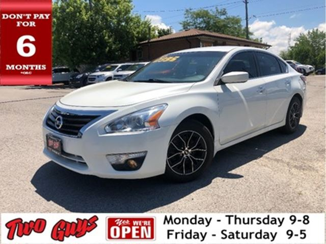2015 NISSAN ALTIMA 4dr Sdn I4 CVT 2.5 S Nice Local Trade In! in St Catharines, Ontario