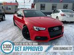2016 Audi A5 Progressiv plus   1OWNER   LEATHER   ROOF   NAV in London, Ontario