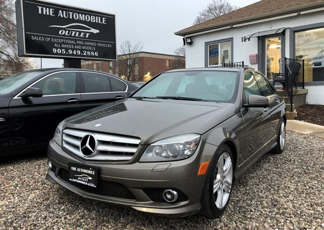 2010 MERCEDES-BENZ C-Class C300 C 300 AWD 4MATIC CERTIFIED LEATHER SUNTOOF in Mississauga, Ontario