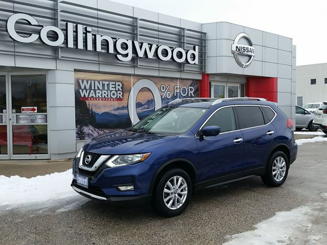 2017 Nissan Rogue SV TECH AWD *1 OWNER* in