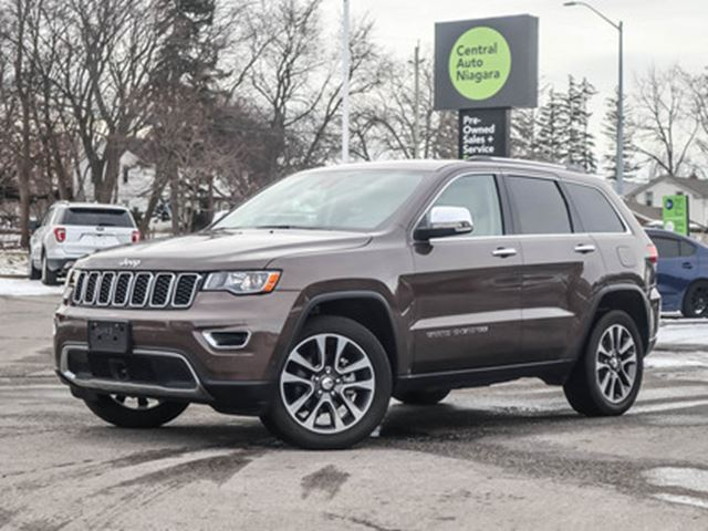 2018 JEEP GRAND CHEROKEE NAVIGATION   BLIND SPOT MONITORING   HEATED SEATS in Fonthill, Ontario