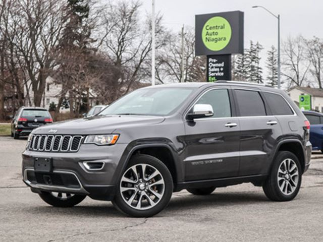 2018 JEEP GRAND CHEROKEE NAVIGATION   LANE DEPARTURE   HEATED SEATS in Fonthill, Ontario
