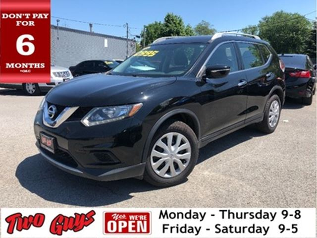 2015 NISSAN ROGUE Back Up Camera Bluetooth Heated Mirrors in St Catharines, Ontario