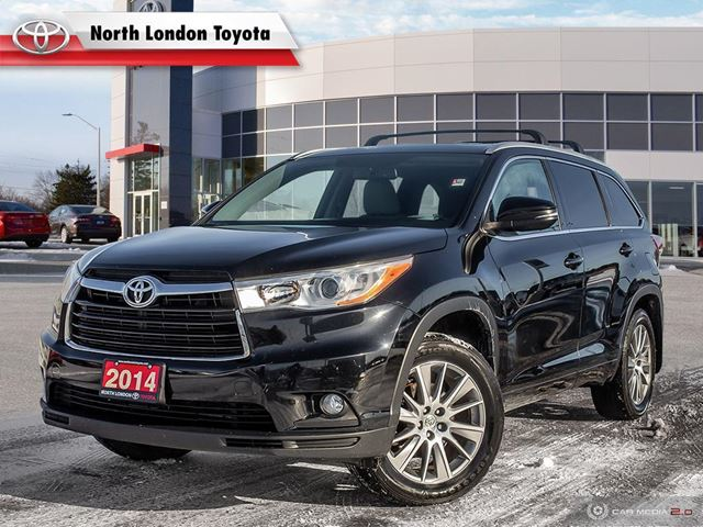 2014 Toyota Highlander XLE No Accidents, Toyota Serviced in