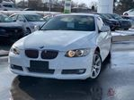 2010 BMW 3 Series Hardtop Convertible   Brown Leather Seats in Mississauga, Ontario