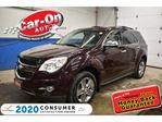 2011 Chevrolet Equinox LTZ LEATHER SUNROOF REAR CAM HTD SEATS LOADED in Ottawa, Ontario