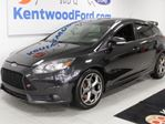 2014 Ford Focus ST 6-SPD manual hatchback with NAV sunroof, heated power leather seats, push start/stop in Edmonton, Alberta