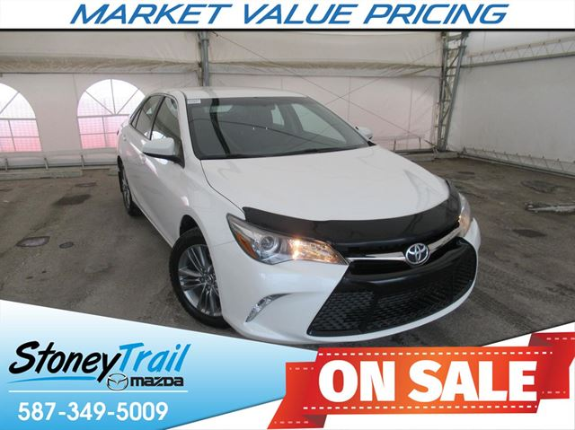 2015 Toyota Camry SE SE - ONE OWNER / ALBERTA TRADE in