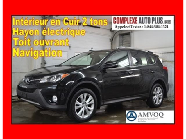 2015 Toyota RAV4 Limited AWD *Navi/GPS,Cuir 2 tons,Toit in Saint-Jerome, Quebec