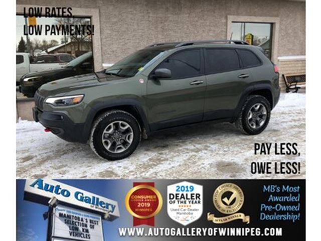 2019 Jeep Cherokee Trailhawk Elite *AWD/B.tooth/Htd Lthr/B.Spot/V6 in