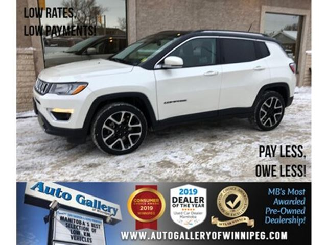 2019 Jeep Compass Limited *AWD/Navi/B.tooth/Htd Lthr/Pano Roof in