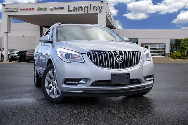 2015 BUICK ENCLAVE Premium  LEATHER / TWO ROOFS / NAVI / 7 PASSENGER (BUCKETS SECOND ROW) in Surrey, British Columbia